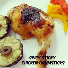 Spicy Sticky Chicken Drumsticks ~ Life can be simple