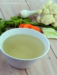 Clear Vegetable Stock (Chinese): Chinese stock differs from French stock in the lack of spices. While a recipe for French stock might call for a pinch of thyme or a few garlic cloves, the Chinese believe spicing masks the flavor of the stock. Seasonings are added later, depending on what the individual recipe calls for. This stock is used for soups and sauces to add more flavour to them.