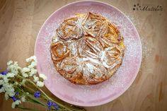 Tarta rizada de leche, ruffled milk pie