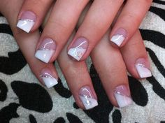 Here you will find our modelages of satisfied customers. Convince yourself … - Trend Nails Short Square Acrylic Nails, Cute Acrylic Nails, Cute Nails, Pretty Nails, French Manicure Nails, French Tip Nails, French Nail Designs, Cute Nail Designs, Fingernail Designs