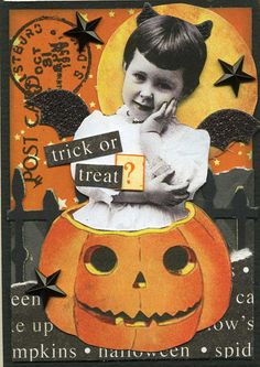 To Trick or To Treat? ATC | Flickr - Photo Sharing!