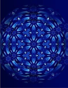 °Fever Reducing Healing Mandala by Sarah Niebank Hoffman