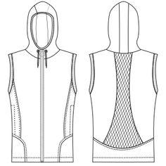 Ofrecemos patrones moldes ropa para bebes, chicos, chicas y uniformes Chaleco 2995 DAMA Chalecos