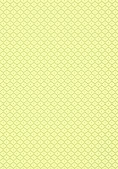 Maya #wallpaper in #citron #green from the Caravan collection. #Thibaut