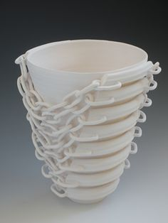 Ceramic Fine Art and Design Katherine Dube - Master and Servant