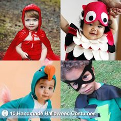 Kid Halloween Costumes sewing-projects
