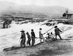 A pic of what Celilo Falls use to look like! #dayshoot30