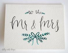 Wedding Gift – Mr & Mrs Wedding Card Congratulations Card Wedding Engagement – The Best Ideas Wedding Congratulations Card, Wedding Greetings, Wedding Cards Handmade, Wedding Gifts, Trendy Wedding, Engagement Cards, Wedding Engagement, Engagement Tips, Ideas