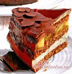 торт пралине - рецепт приготовления