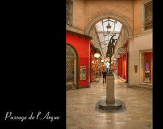 Le passage de l'Argue, entre la rue Édouard Herriot et la rue de la République…