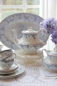 Antique Blue & White China