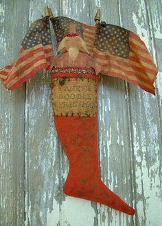 Grimitives patriotic stocking*