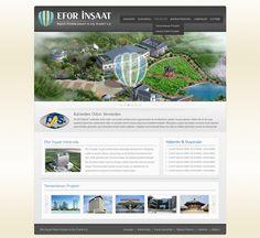 Efor website design