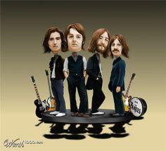 Bobblehead Beatles