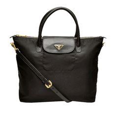 Prada Tessuto Saffiano Bag.. my first ever Prada. Hoping for more to come!