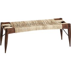 wrap bench in ottomans, benches | CB2