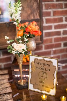Wedding Ideas: envisioning tables being 'locations' versus #'s.