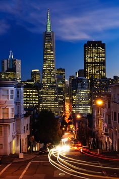 San Francisco, California, USA. I've been once and only got to see 1/4 of it. I'm going back and spending a couple of days.
