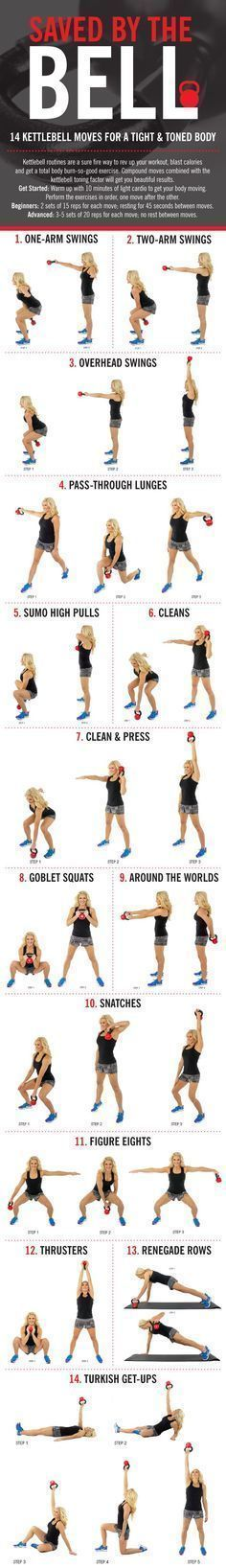 TORCH calories with our favorite kettle bell moves. Repeat circuit 2-3 times through!
