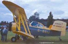 G-BEIJ - 1976 build Grumman G-164B Ag-Cat, displayed at the 1977 Business and Light Aviation Show at Cranfield | Flickr - Photo Sharing!
