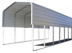 rv storage buildings | rv covers, carports and storage Storage Buildings, Metal Buildings, Rv Storage, Built In Storage, Building Ideas, Building Toys, Rv Covers, Rv Carports, Camper Decorating