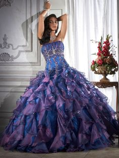 Purple | Purple wedding dresses: Wedding Dresses with Purple in Them | Wedding ...