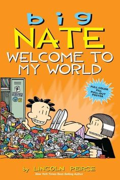 Join Big Nate and his classmates Gina, Artur, Francis, Jenny, and Teddy, as they navigate the halls of P.S. 38. One thing's for sure: Nate is definitely not the teacher's pet! Aspiring cartoonist Nate