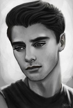 Afbeeldingsresultaat voor drawing realistic male faces