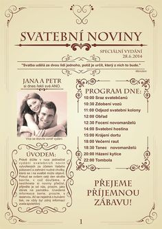 Svatební noviny (10 výtisků A5) / Zboží prodejce W-day | Fler.cz Blush Wedding Reception, Grey Wedding Decor, Blush And Grey Wedding, Blush Wedding Cakes, Grey Wedding Invitations, Blush Wedding Flowers, Craft Wedding, Garden Wedding, Diy Wedding
