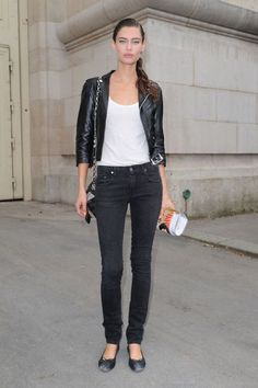 Balti Bianca, Dramatic Classic, Models Off Duty, Model Pictures, Victoria Secret, Classic Style, Bomber Jacket, Street Style, Style Inspiration