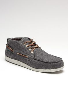 Grey Boat Shoes / Element