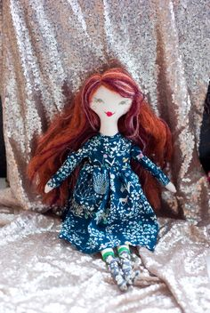 novamelina - Alanna from my first patch of dolls i handmade with love :)  #clothdoll #handmade #doll #heirloomdoll #ragdoll #madewithlove #sewing #libertyartfabrics #libertyprints