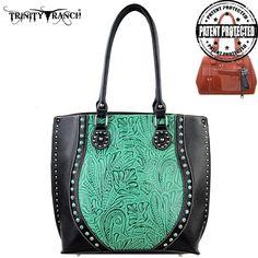 Montana West Trinity Ranch Genuine Leather Concealed Handgun Handbag – Handbag Addict.com