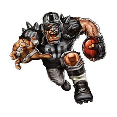 The players need the roar of the fans and nobody pumps up the crowd like your favorite team mascot! The Fathead NFL Team Mascot Wall Decal is an awesome. Okland Raiders, Raiders Stuff, Oakland Raiders Football, Raiders Baby, Nfl Football Teams, Football Art, Football Memes, Dallas Cowboys, Football Stuff