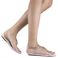 sandália rasteira feminina em couro croco legítimo