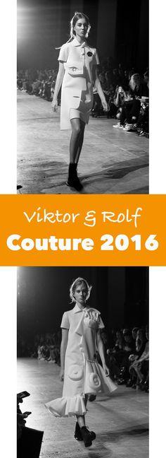 Viktor & Rolf Couture Show Parijs Spring Summer 2016 | trendbubbles.nl