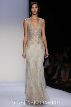 Badgley Mischka Ready To Wear Spring Summer 2014 New York - NOWFASHION