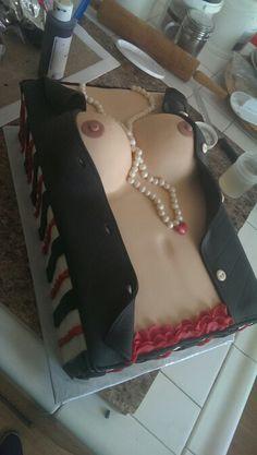 #boobies #cake #sexycake #boobcake