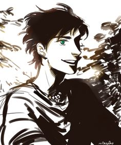 Percy | art by minuiko The eyes!