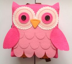 Owl back pack. From Hobby Craft. Finished 26th September 2015.
