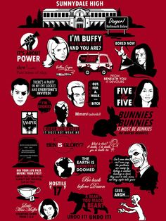 buffy the vampire slayer scooby gang | Buffy The Vampire Slayer ~ funny thing is i still quote most of these ...