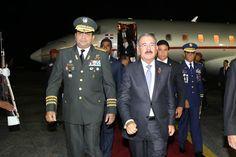 Armario de Noticias: Presidente Danilo Medina regresó de Cuba tras part...