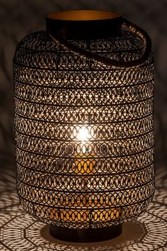 Arabian, black, steel, sisal, lamp by Kare. Item No. Sultan Palace, Moroccan Style, Sisal, Barns, Lamp Light, Floor Lamp, Oriental, Shed, Entertainment