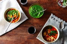 Soupe au pistou: The French answer to minestrone, and the cold-weather answer to pesto.