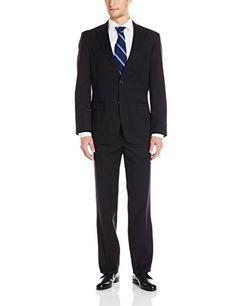 Tommy Hilfiger Men's Vasser 2 Button Side Vent Suit, Black, 50 Regular Tommy Hilfiger http://www.amazon.com/dp/B00UOVGKRW/ref=cm_sw_r_pi_dp_ezhDwb0Y81MWH