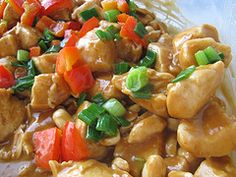 Okay, I came across Blog Chef.net a recipe blog a couple years ago. I love it, I have tried numerous recipes this Thai Chicken dish really does it for me!