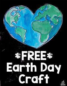 Free Printable Earth Day Craft for kids!