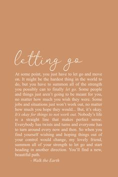 Letting Go Quotes, Fresh Start, Inspirational Quotes & Poetry, Encouraging Words - - quotes quotes about love quotes for teens quotes god quotes motivation Letting Go Quotes, Go For It Quotes, Self Love Quotes, Words Quotes, Quotes To Live By, Me Quotes, Motivational Quotes, Inspirational Quotes, Poetry Quotes