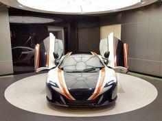 Inspired Wrap McLaren 650S with GT3