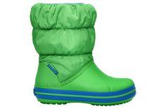 Śniegowce CROCS WINTER PUFF lime/ sea blue http://bit.ly/1sSfrs0